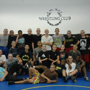 NOV. 20-26: Last week, members of the Samo Wrestling Team shaved their heads to honor Al Kinslow, a middle school wrestling coach who mentored many of the team members before they came to Samo. Kinslow was recently diagnosed with cancer, and the news devastated the Samo team and coaches. To donate please visit bigalcancerfoundation.org. (ELOISE GRAHAM / The Samohi)