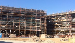 The construction of the new building has been pushed to the 2015-2016 school year.