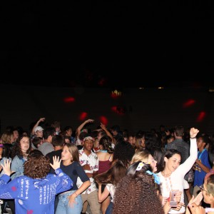 Students at Back to School Dance