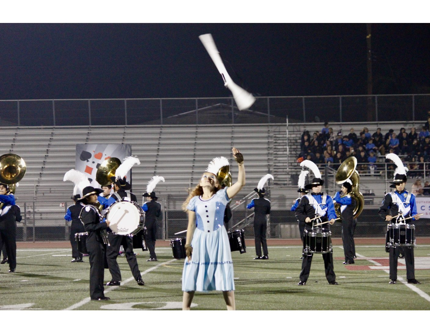 The Samohi » Viking Marching Band blows past competition in